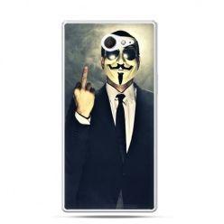 Sony Xperia M2 etui anonimus fuck you