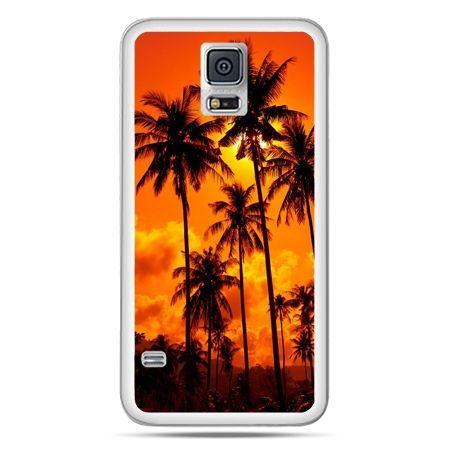 Galaxy S5 Neo etui palmy nocą