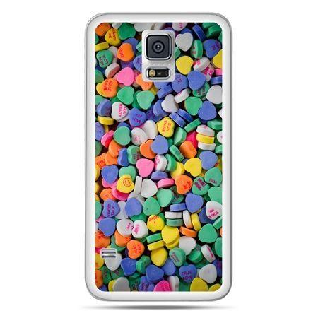 Galaxy S5 Neo etui slodkie serduszka