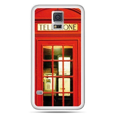 Galaxy S5 Neo etui czerwona budka telefoniczna