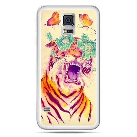 Galaxy S5 Neo etui egzotyczny tygrys