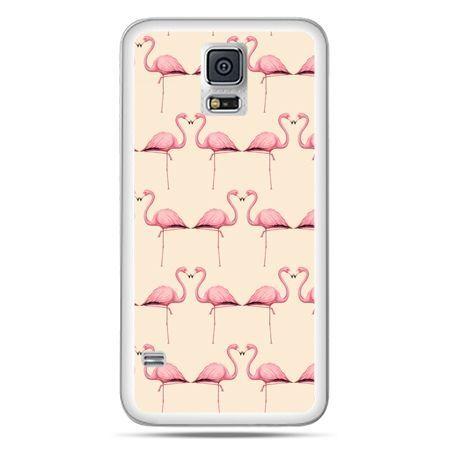 Galaxy S5 Neo etui flamingi