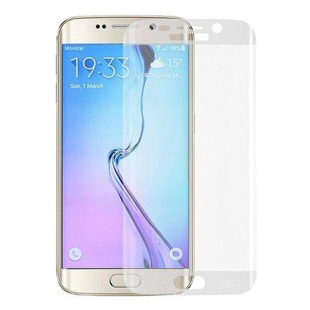 Galaxy S6 Edge Bezbarwne hartowane szklo na cały ekran