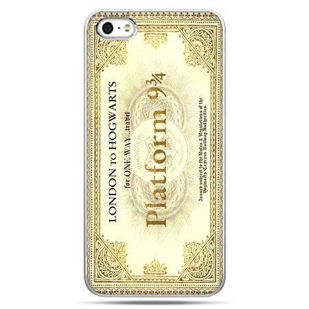 Etui na telefon bilet platform 9 3/4 Harry Potter.