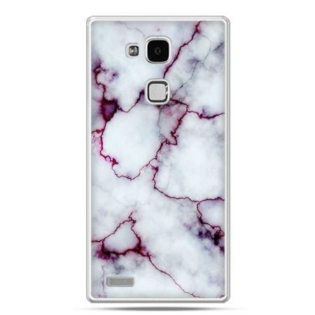 Etui na Huawei Mate 7 różowy marmur