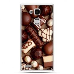 Etui na Huawei Mate 7 czekoladki