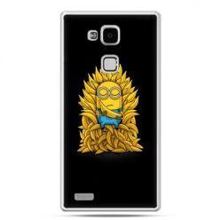 Etui na Huawei Mate 7 Minionek na tronie ,minionki