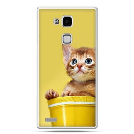 Etui na Huawei Mate 7 kot w doniczce