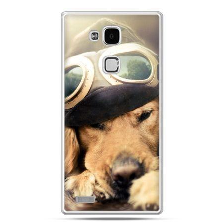 Etui na Huawei Mate 7 pies w okularach