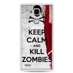 Etui na Huawei Mate 7 Keep Calm and Kill Zombies