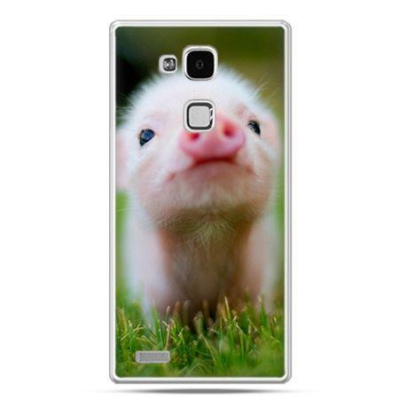 Etui na Huawei Mate 7 świnka