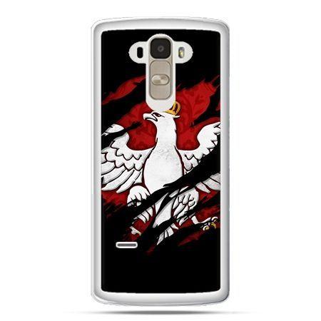 Etui na telefon LG G4 Stylus patriotyczne - Polski Orzeł