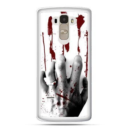 Etui na LG G4 Stylus zakrwawiona ręka