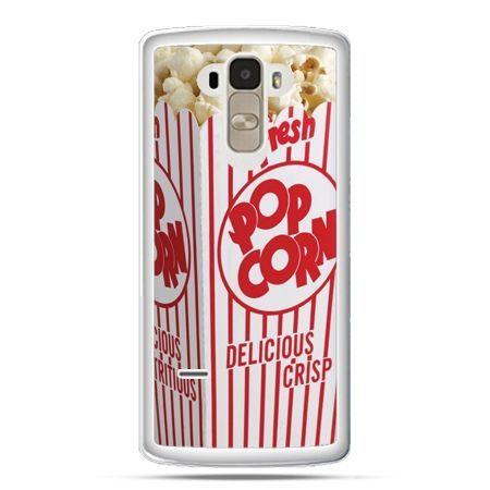 Etui na LG G4 Stylus Pop Corn