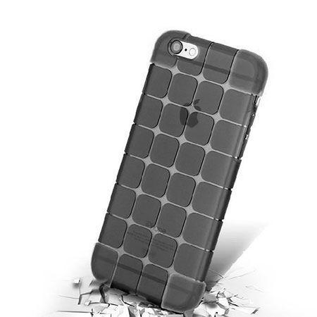 iPhone 6 Plus CubeProtect etui silikonowe dymione czarne. PROMOCJA!!!