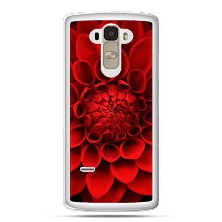 Etui na LG G4 Stylus czerwona dalia