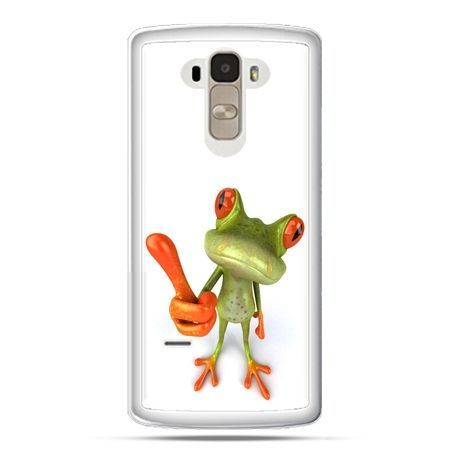 Etui na LG G4 Stylus śmiesznaq żaba