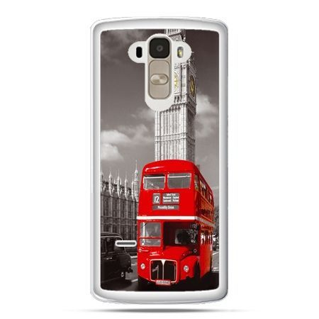 Etui na LG G4 Stylus czerwony autobus londyn