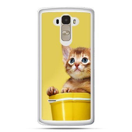 Etui na LG G4 Stylus kot w doniczce