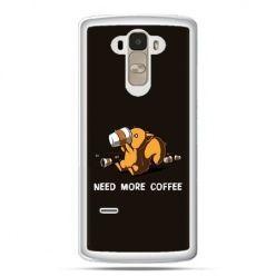 Etui na LG G4 Stylus Kawa Need more