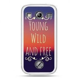Samsung Xcover 2 etui Young wild and free