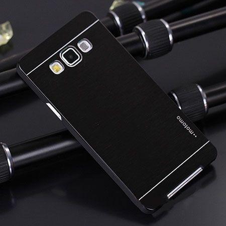 Galaxy Grand Prime etui Motomo aluminiowe czarne. PROMOCJA !!!