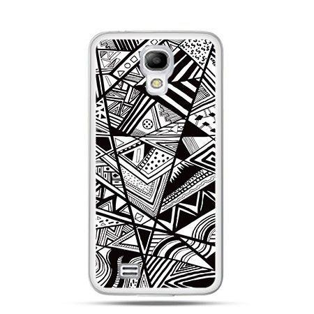 Etui geometryczne wzory Samsung S4 mini