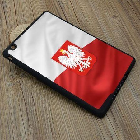 Etui na iPad Air 2 case flaga Polski z godłem