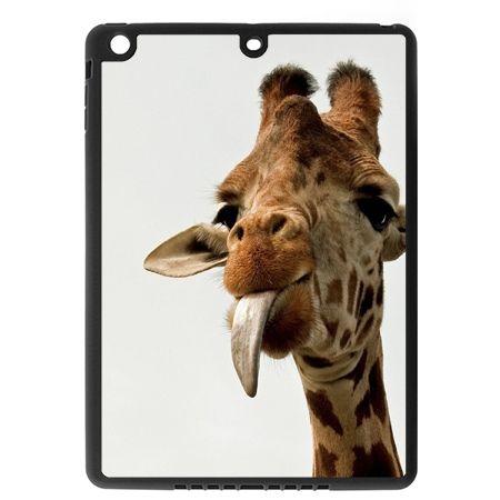 Etui na iPad mini case żyrafa z językiem
