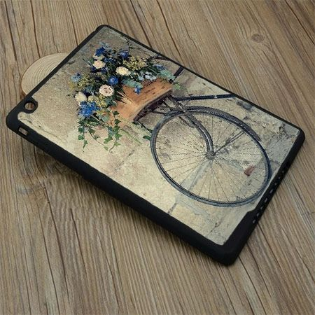 Etui na iPad mini 3 case rower z kwiatami