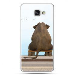 Galaxy A5 (2016) , etui na telefon zamyślony słoń