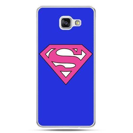 Galaxy A7 (2016) A710, etui na telefon Supergirl