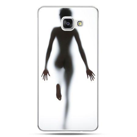 Galaxy A7 (2016) A710, etui na telefon kobieta za szybą
