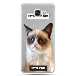 Galaxy A7 (2016) A710, etui na telefon grumpy kot zrzęda