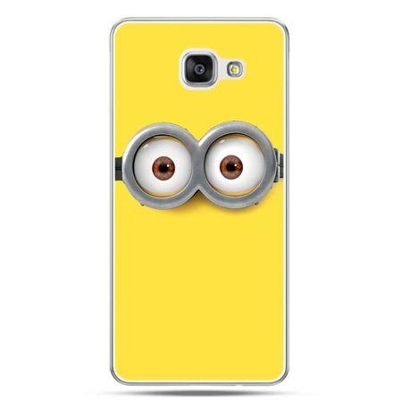 Galaxy A7 (2016) A710, etui na telefon oczy Minionka, Minionki