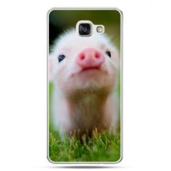 Galaxy A7 (2016) A710, etui na telefon świnka
