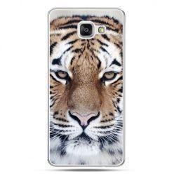 Galaxy A7 (2016) A710, etui na telefon śnieżny tygrys