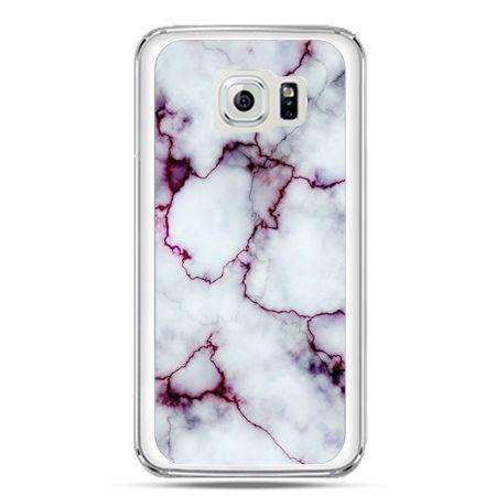 Etui na telefon Galaxy S7 różowy marmur