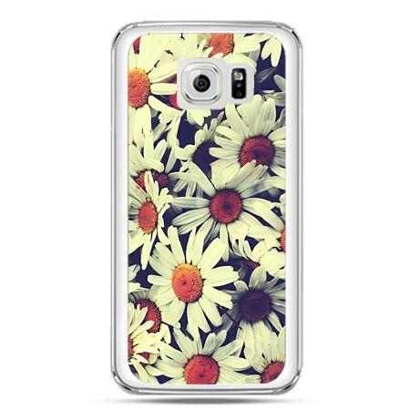 Etui na telefon Galaxy S7 stokrotki