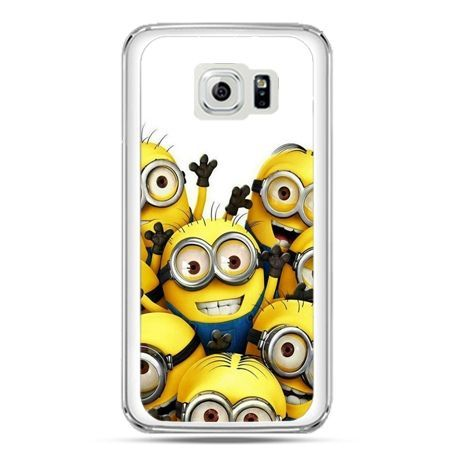 Etui na telefon Galaxy S7 Minionki