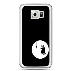 Etui na telefon Galaxy S7 kotek