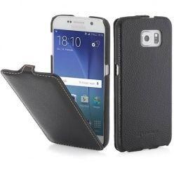 Pokrowiec na Galaxy S6 Stilgut Ultraslim skóra czarny.