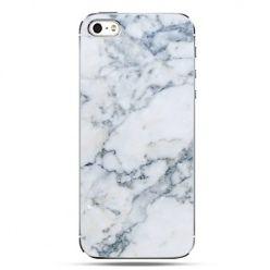 iPhone SE etui na telefon biały marmur