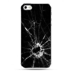 iPhone SE etui na telefon rozbita szyba