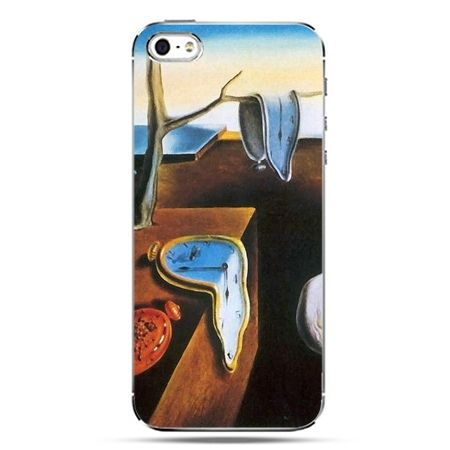iPhone SE etui na telefon zegary S.Dali