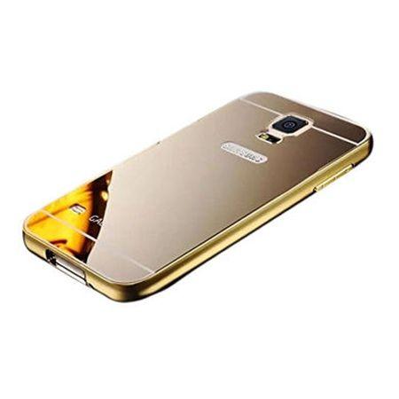 Mirror bumper case na Galaxy S5 Neo - Złoty