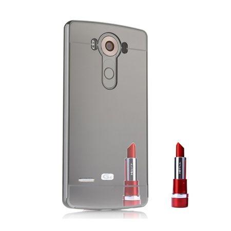 Mirror bumper case na LG G4 - Czarny