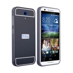 Bumper case na HTC Desire 620 - Czarny