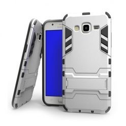 Pancerne etui na Samsung Galaxy S3 - Srebrny