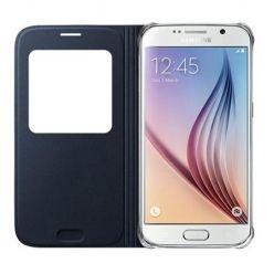 Etui na Samsung Galaxy S7 Edge - flip S-View z klapką - Czarny
